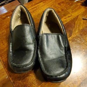 Childrens place black loafer boys toddler 10C